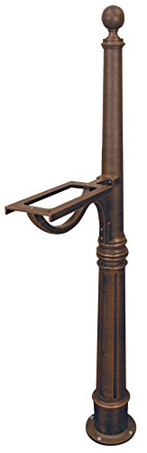 - Special Lite Products Company, Inc. SPK-600 Ashland Mailbox Post, Full Size, Copper