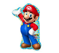 By Broward Balloons Super Mario Bros Mini Shape 14 Inch Foil Balloon (Qty 2) for $<!--$1.82-->
