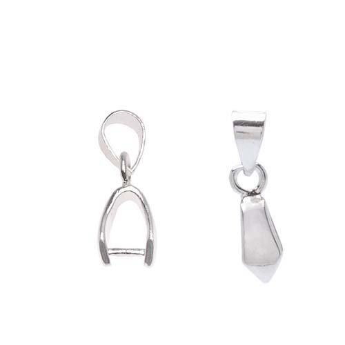 Beadalon Silver Gemstone Crystal Pendants