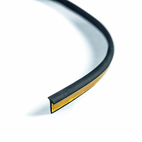 Rubber welting trim gasket Fender flares Rublok Black 3.5m 11.5ft for a pair