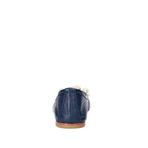 Ballerine Blu Pelle AG882 POKEMAOKE Donna 37 EU H7wSwgqd