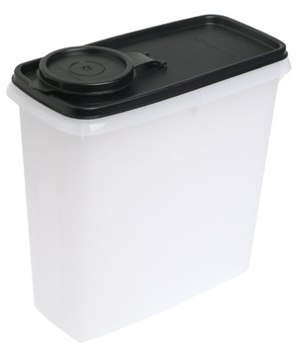 real Storer, Black (Tupperware 13 Cup Cereal)