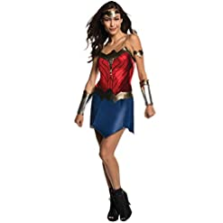Rubie's Adult Batman V Superman: Dawn Justice- Classic Wonder Woman Costume