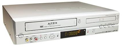 amazon com apex adv 3800 progressive scan dvd vcr combo electronics rh amazon com Apex 32 LED HDTV Apex 32 Inch LED HDTV