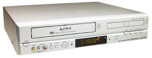 Apex ADV-3800 Progressive-Scan DVD-VCR Combo (Apex Tv Dvd Combo)
