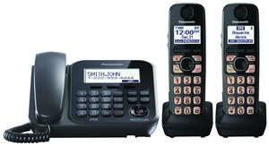 Price comparison product image Panasonic Dect 6.0+ Corded / Cordless,  ITAD, 2 HS