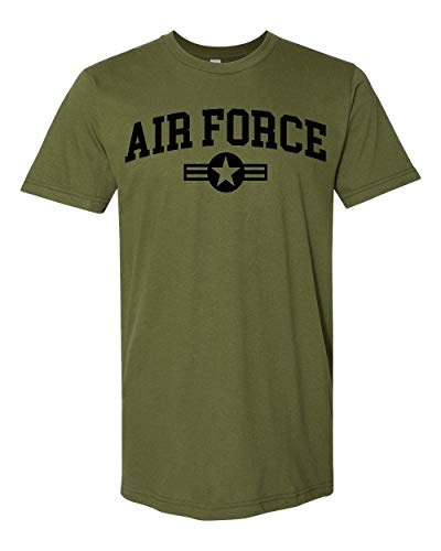 Promotion & Beyond US Military Gear Air Force Training PT Men's T-Shirt, L, Military