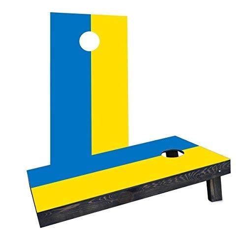 独特な店 Custom Cornhole Boards Boards Cornhole Incorporated CCB277-C-RH Ukraine Flag National Flag Cornhole Boards [並行輸入品] B07HLHXCNH, 三雲町:5a487b5a --- ciadaterra.com