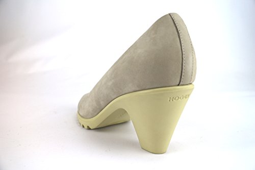 Hogan 36,5 EU Zapatos de Salón Mujer Gris Gamuza AH668