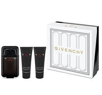 Givenchy Play Intense for Men Gift Set -3.3 oz EDT Spray, 2.5 oz Shower Gel & 2.5 oz After Shave Gel