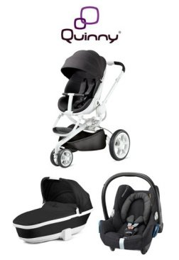 Amazon.com: Quinny Trio Travel System Estado de Ánimo Negro ...