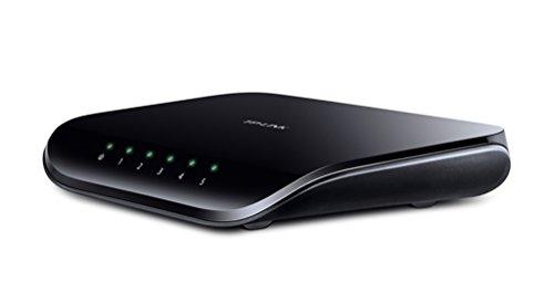 TP-Link 5-Port Gigabit Ethernet Unmanaged Switch w/ Shielded Ports   Plug and Play   Desktop (TL-SG1005D)