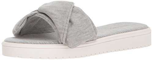 Nine West Women's Ruth2 Open Back Slippers Gray (Heather Grey) 9WKQBpitTV