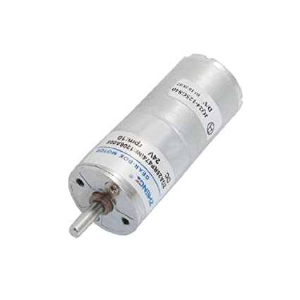 Dos terminales del obturador automático del motor de engranajes 24 VCC 10rpm - - Amazon.com