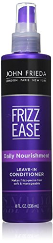 John Frieda Frizz Ease Daily Nourishment Leave-in Conditioner, 8 Ounce (Pack of 2) (Spray Frieda John)