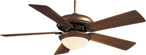 "Minka-Aire F569-ORB, Supra, 52"" Ceiling Fan with Light & Remote Control,  Oil-Rubbed Bronze"