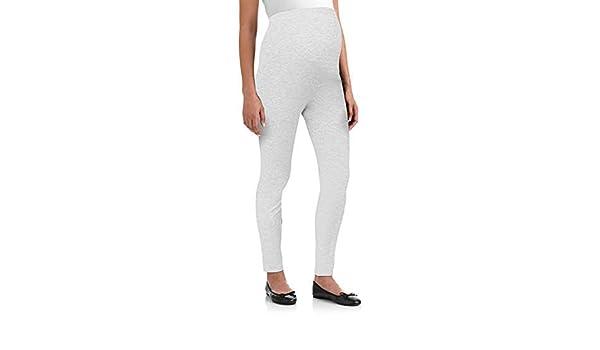 fe510a55c9d8e Oh! Mamma Full Panel Maternity Leggings (2X, Heather Grey) at Amazon  Women's Clothing store: