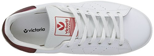 Basses Rouge Victoria Basket Mixte Sneakers Piel Deportivo Adulte burdeos gIxqS