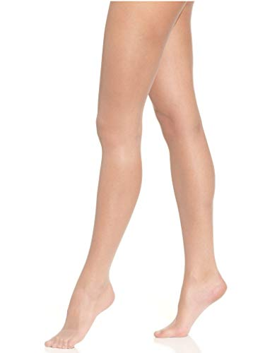 Falke Women's 1 Pair Shelina 12 Denier Ultra Transparent Tights with Shimmer Small Brazil