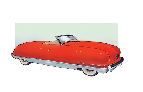 Car Art 1941 Chrysler Thunderbolt Painting Poster, 11 x 17 Print, Full Color Automobile Drawing and Illustration, Perfect Decore for Man Cave or Living Room 1941 Poster Print