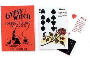 Novelty Toys Tarot Cards Playing Card Divination Gypsy Witch Halloween Style Color (Halloween Meaning)