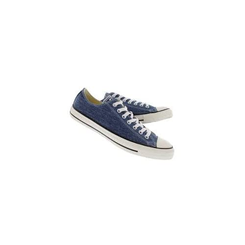 c24174094394 Converse Chuck Taylor All Star OX Washed Canvas Low Top Sneakers 147038F  Navy 10 D(