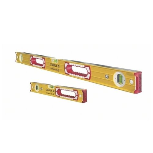 Stabila 37816 48-Inch and 16-Inch Aluminum Box Beam Level Set (Level 16 Stabila)