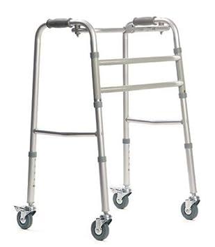 Andador de aluminio Carter vitea Care | vierrädrigen | tamaño ...