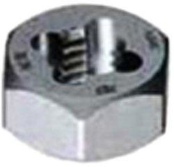 Gyros 92-91615 Metric Carbon Steel Hex Rethreading Die, 16mm x 1.50 Pitch