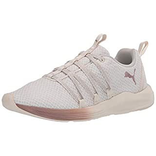 PUMA Women's Prowl Alt Sneaker, White-Rose Gold, 8 M US