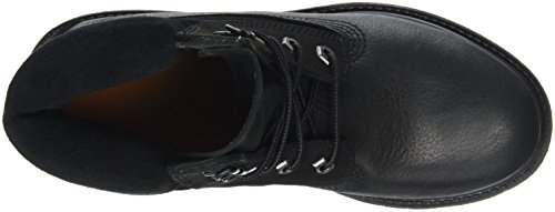 D Donna Double 6in Alto Scarpe a Premium Timberland Collo Nero Aqfn68