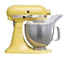 KitchenAid Artisan Mixer 5KSM150MY Majestic Yellow 220 VOLTS ONLY