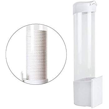 Amazon Com Dixie Wall Mount Bathroom Cup Dispenser Amp Cups 3 Oz Home Amp Kitchen