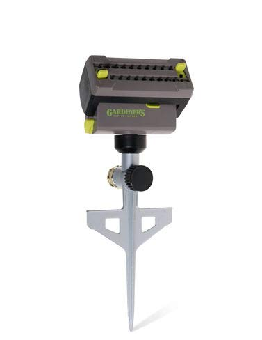 Oscillating Lawn and Garden Sprinkler with Spike