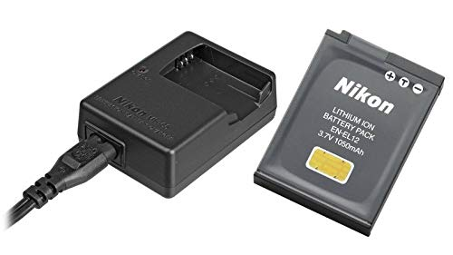 (OemNikon MH-65 & EN-EL12 Rechargeable Battery for Nikon Coolpix AW110,AW100, S8200, S9700,S9400, S9500 Digital Camera. ENEL12 MH65 !)