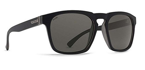 Vonzipper Womens Banner Sunglasses, Black Smoke Satin / W...