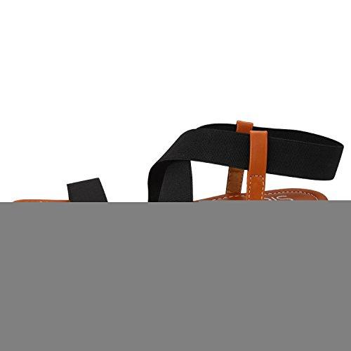 Sibba - Zapatillas de casa Mujer negro