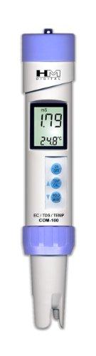 HM Digital COM100 Waterproof EC/TDS And Temperature Combo Meter by HM Digital