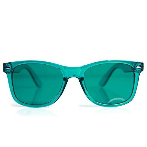 (GloFX Aqua Color Therapy Glasses Chakra Glasses Relax Glasses)