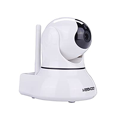 KEEKOON HD 1080P IP Camera Wireless WiFi Plug/Play Pan/Tilt 2-Way Audio Night Vision Home Security Surveillance Camera Baby Monitor (white-002) by KEEKOON that we recomend personally.