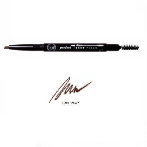 2 Pack J. Cat Brow Duo Pencil 107 Dark Brown