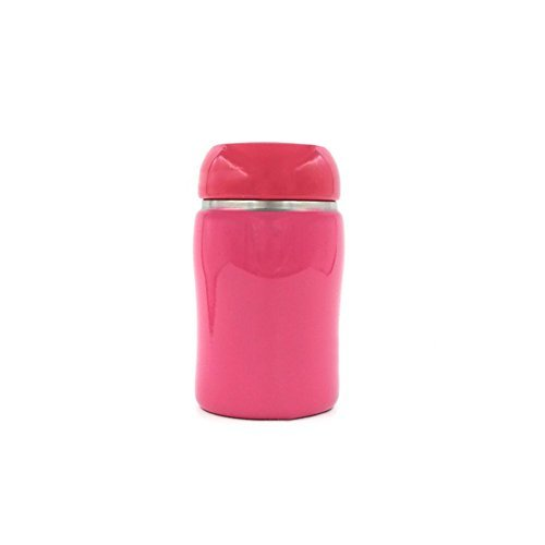 TheFashionWay Cute Insulated Stainless Steel Lady Student Vacuum Cup Candy Color Opalescent Lacquers Thermoses Warm Cold Water (300ML, Rose)