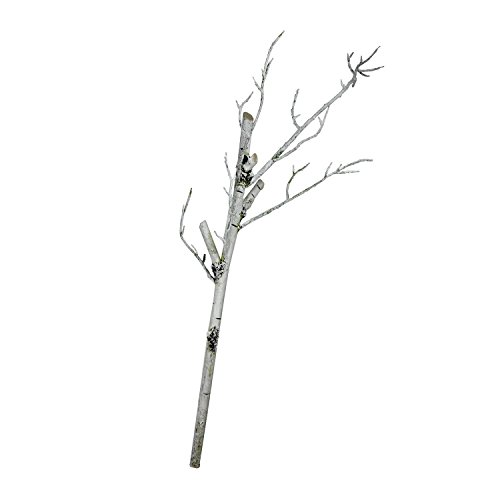 Northlight 38  White Decorative Artificial Crafting Or Display Birch Tree Trunk