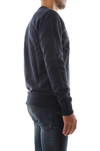 K10k102724 shirt scuro blu Calvin Klein Sweat Homme in Cotton cotone Blazer PIw54qA