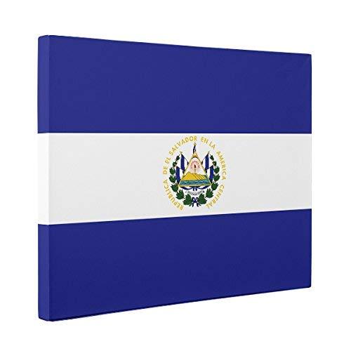 - El Salvador Flag CANVAS Wall Art Home Décor