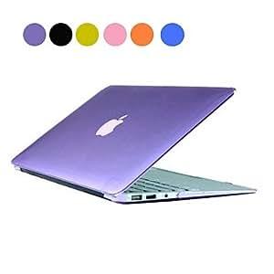 """ZXM- Sólido estuche rígido de la PC del color con el cristal para el MacBook Air de 11 """"(variedad de colores) , Naranja"""