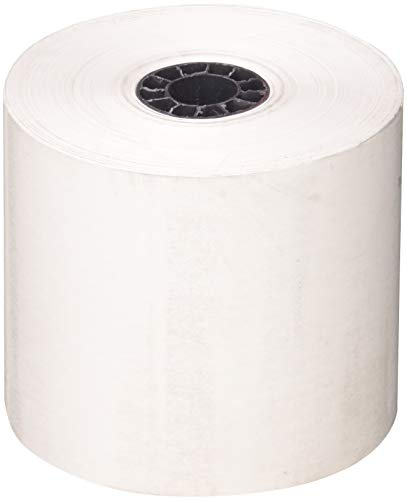 FHS Retail Thermal Receipt Paper, 2.25 Inches x 165 Feet Roll (32 - Paper Thermal 1/4 Rolls