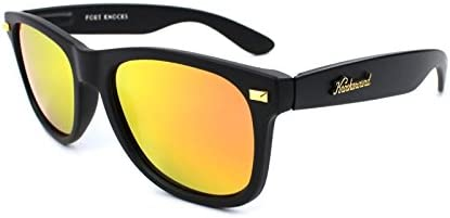 Gafas de sol Knockaround Fort Knocks Matte Black / Sunset ...