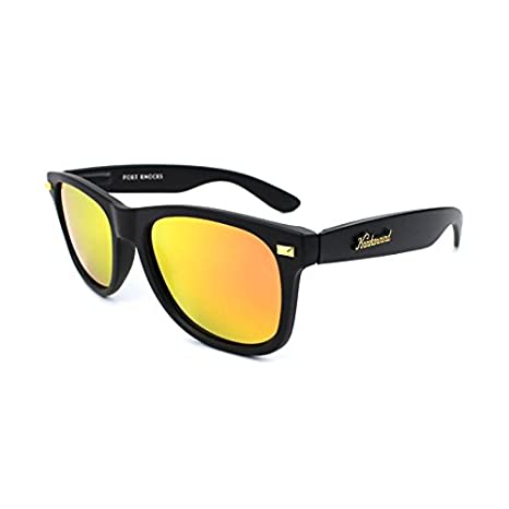 Gafas de sol Knockaround Fort Knocks Matte Black / Sunset POLARIZADAS: Amazon.es: Electrónica