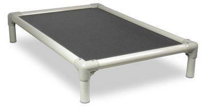 Kuranda Almond PVC Chewproof Dog Bed - XXL (50x36) - Cordura - Smoke by Kuranda